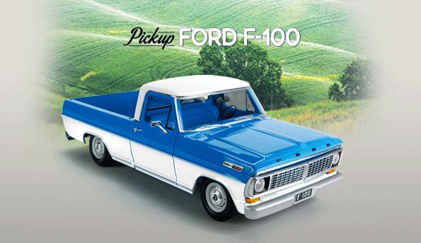 pick up ford 100 editorial salvat. Black Bedroom Furniture Sets. Home Design Ideas