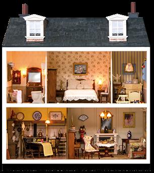 Casa De Muñecas Miniaturas periódico..